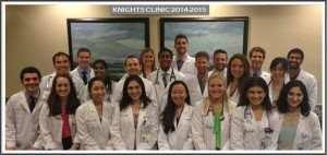 knights clinic group photo