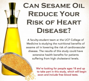 Sesame Oil-Hart Disease-Poster crop