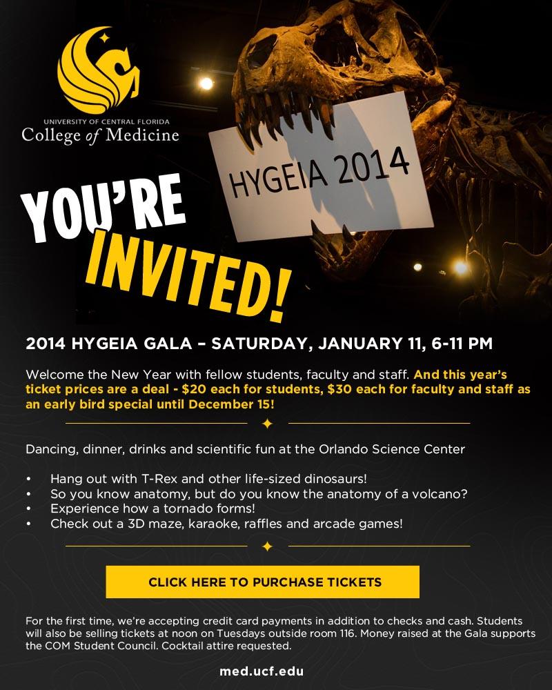student council hygeia gala